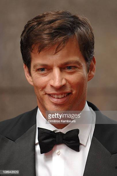 Musician Harry Connick Jr attends the 62nd Annual Tony Awards at Radio City Music Hall on June 15 2008 in New York City