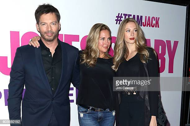 Musician Harry Connick Jr Jill Goodacte and Georgia Tatum Connick attends Universal Pictures and Working Title Films Present the American Premiere of...