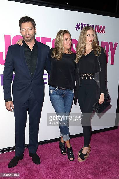Musician Harry Connick Jr., Jill Goodacte and Georgia Tatum Connick attends Universal Pictures and Working Title Films Present the American Premiere...