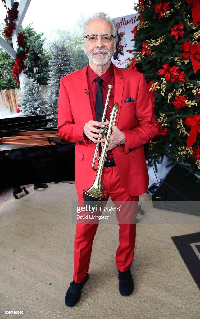 Musician Herb Alpert visits Hallmark's 'Home & Family' at Universal Studios Hollywood on November 2, 2017 in Universal City, California.