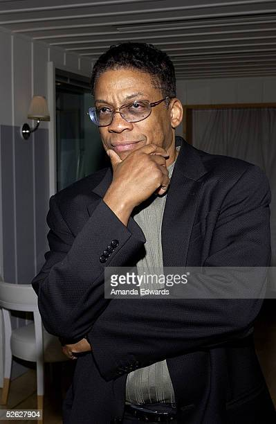 Musician Herbie Hancock attends the post screening party for the 9th Annual City of Lights, City of Angels Film Festival held at The Sky Bar on April...