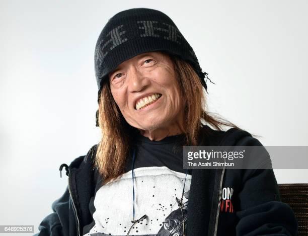 Musician Hiroshi Kamayatsu speaks during the Asahi Shimbun interview on July 8, 2016 in Tokyo, Japan.