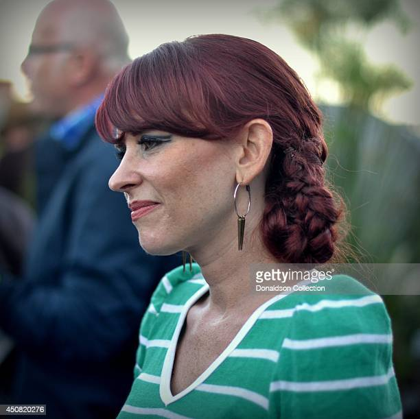 """Musician Holland Greco at the Zappa Records release of her album """"Volume 1"""" on the roof of the Andaz Hotel, formerly the Riot House, on June 17, 2014..."""