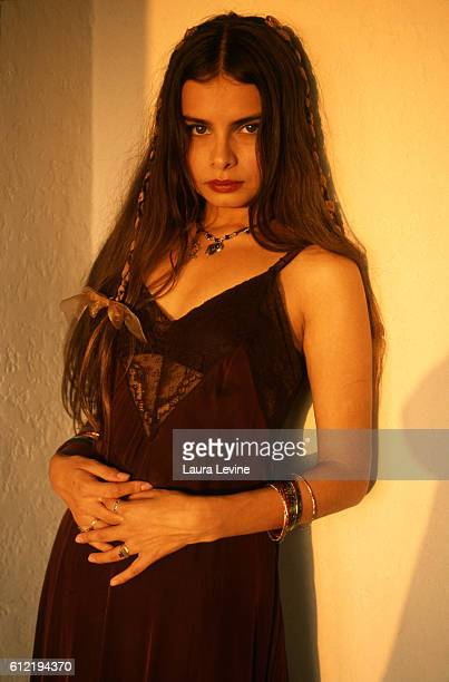 Musician Hope Sandoval of the group Mazzy Star