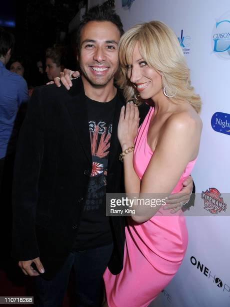 Musician Howie Dorough and singer Deborah Gibson attend An Evening of Electric Youth to Benefit Gibson Girl held at Cafe La Boheme on April 28 2009...