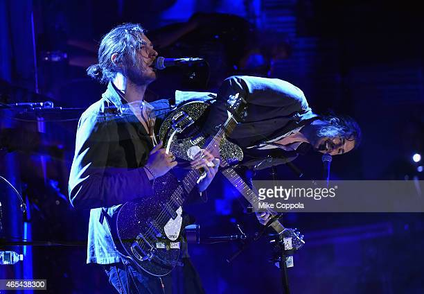 Musician Hozier performs at Beacon Theatre on March 6 2015 in New York City