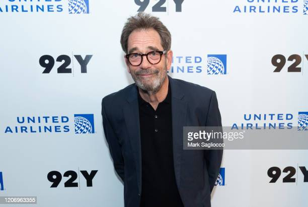 Musician Huey Lewis attends the Huey Lewis In Conversation With Mark Goodman Weather event at the 92Y on February 17 2020 in New York City