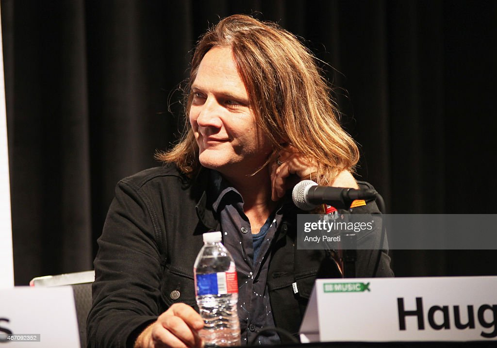 Musician Ian Haug speaks onstage at 'SXSW Interview: The Church' during the 2015 SXSW Music, Film + Interactive Festival at Austin Convention Center on March 20, 2015 in Austin, Texas.