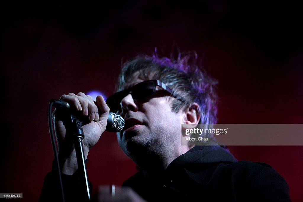 Musician Ian McCulloch of 'Echo & the Bunnymen' performs on Day 1 of the 2010 Coachella Valley Music & Arts Festival at The Empire Polo Club on April 16, 2010 in Indio, California.