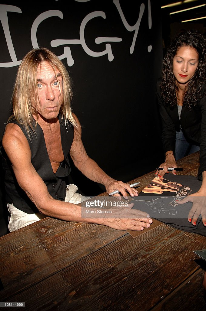 Iggy Pop & Simon Doohan Host Launch of Archive 1887 Iggy Pop Collection