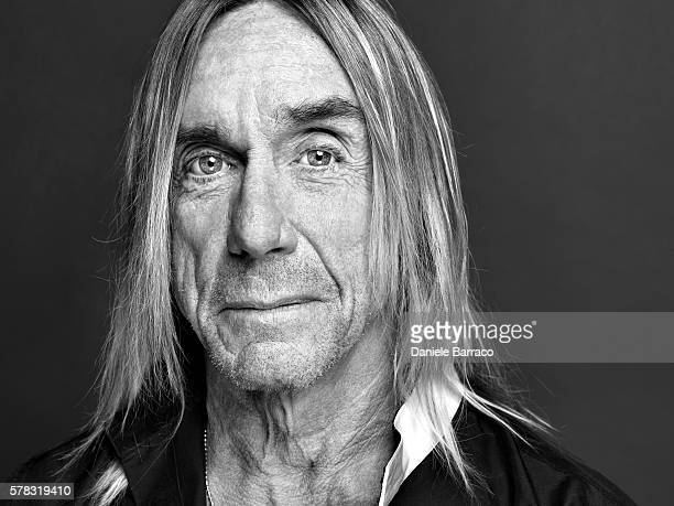 Musician Iggy Pop is photographed for Self Assignment in 2012.