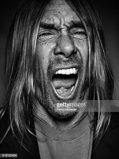 Musician Iggy Pop is photographed for Telerama on February 23 in New York City. PUBLISHED IMAGE