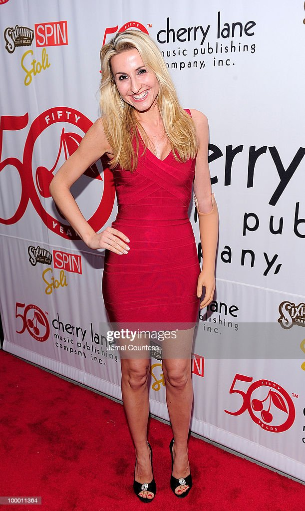 Musician Ilse poses on the red carpet at the Cherry Lane Music Publishing's 50th Anniversary celebration at Brooklyn Bowl in Brooklyn on May 19, 2010 in New York City.