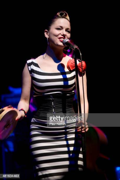 MUsician Imelda May performs onstage Chicago Illinois March 16 2010