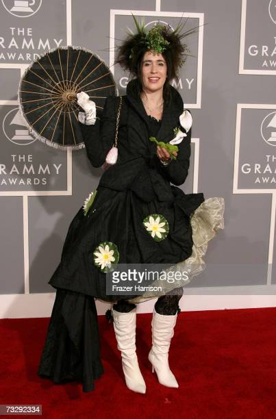 Musician Imogen Heap arrives at the 49th Annual Grammy Awards at the Staples Center on February 11 2007 in Los Angeles California