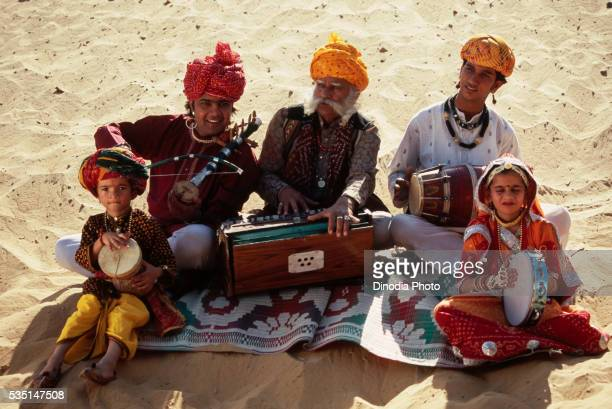 Musician in Rajasthan, India