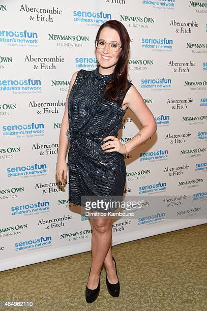 Musician Ingrid Michaelson attends SeriousFun Children's Network's New York City Gala at Avery Fisher Hall Lincoln Center on March 2 2015 in New York...