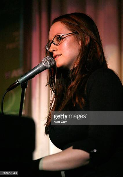 Musician Ingrid Michaelson during the Tribeca ASCAP Music Lounge at the 2008 Tribeca Film Festival on April 29 2008 in New York City