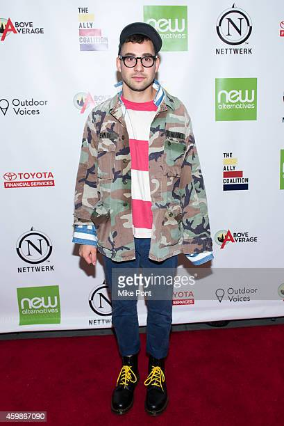 Musician Jack Antonoff attends the 2014 Ally Coalition's Talent Show at New World Stages on December 2 2014 in New York City