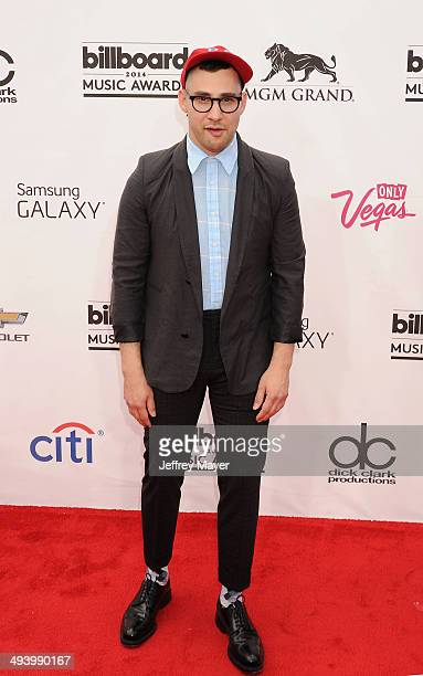 Musician Jack Antonoff of Bleachers arrives at the 2014 Billboard Music Awards at the MGM Grand Garden Arena on May 18 2014 in Las Vegas Nevada