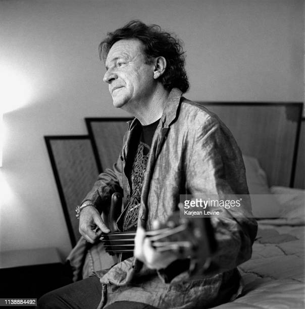 Musician Jack Bruce poses for a portrait on May 30, 2001 in New York City, New York.