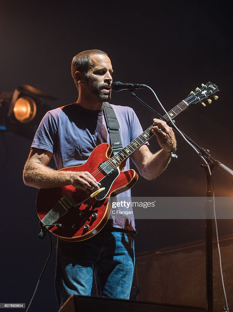 Musician Jack Johnson performs on the Sunset Cliffs Stage during the 2016 KAABOO Del Mar at the Del Mar Fairgrounds on September 18, 2016 in Del Mar, California.