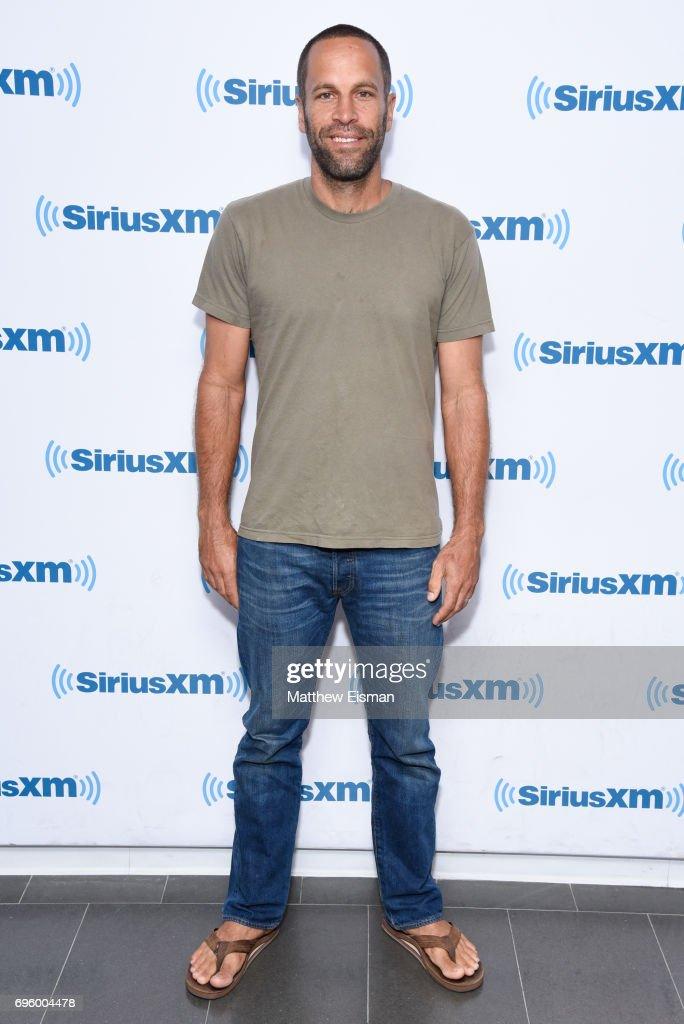 Musician Jack Johnson visits SiriusXM Studios on June 14, 2017 in New York City.