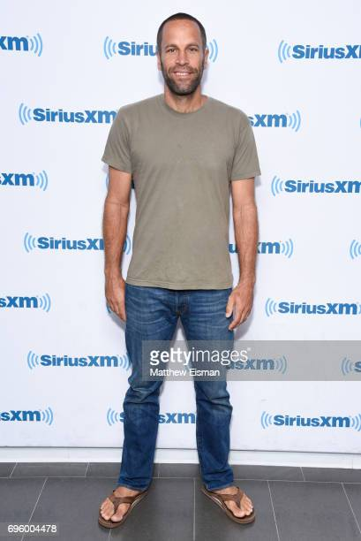 Musician Jack Johnson visits SiriusXM Studios on June 14 2017 in New York City