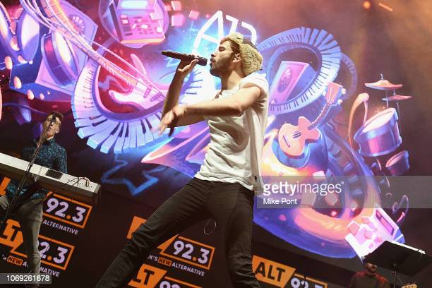 Musician Jack Met of AJR performs onstage at Not So Silent Night presented by Radiocom at Barclays Center on December 6 2018 in New York City