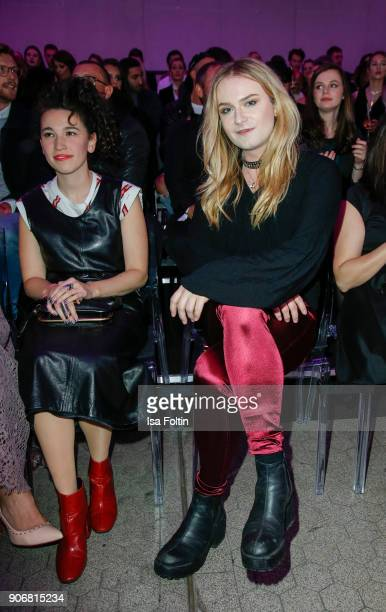 Musician Jack Strify during the Maybelline Show 'Urban Catwalk Faces of New York' at Vollgutlager on January 18 2018 in Berlin Germany