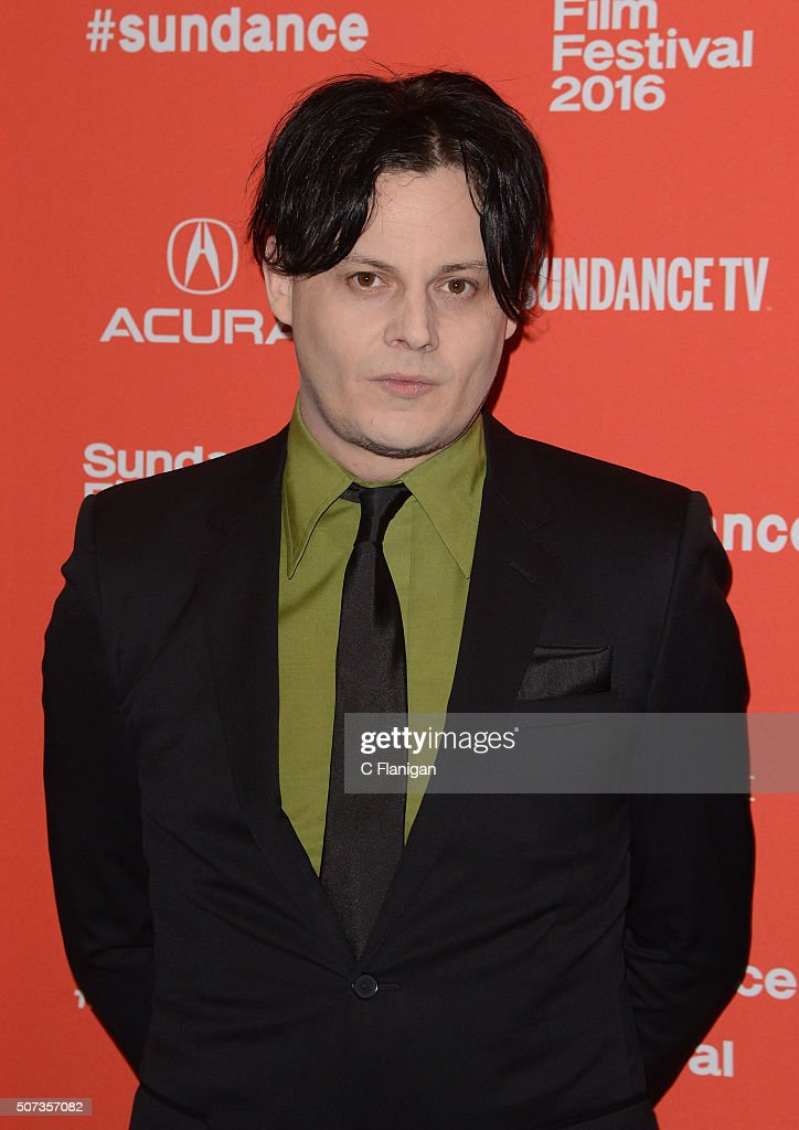 Musician Jack White attends the 'American Epic' Premiere during the 2016 Sundance Film Festival at Eccles Center Theatre on January 28, 2016 in Park City, Utah.