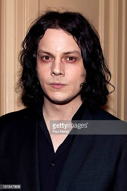 Musician Jack White attends The Library of Congress' Third Gershwin Prize for Popular Song celebrating the music of Paul McCartney at The Library of...