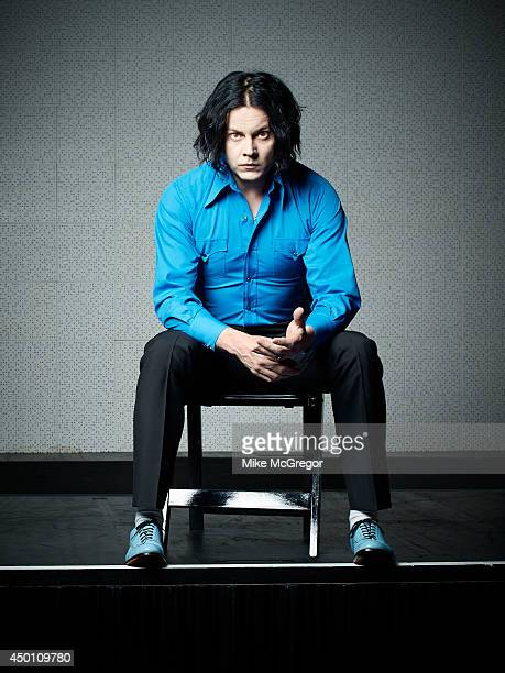 Musician Jack White is photographed for The Observer Magazine on May 7 2014 in Nashville Tennessee COVER IMAGE