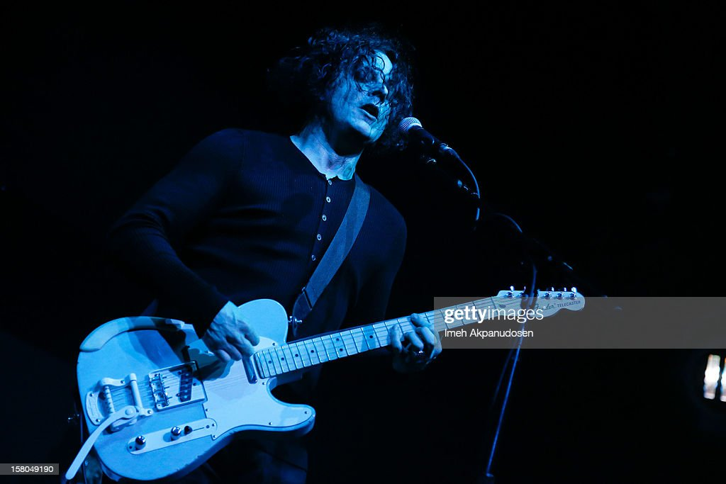 Musician Jack White performs onstage at the 23rd Annual KROQ Almost Acoustic Christmas at Gibson Amphitheatre on December 9, 2012 in Universal City, California.