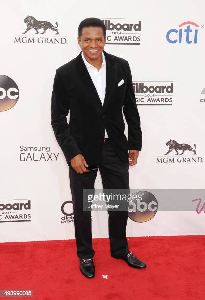Musician Jackie Jackson arrives at the 2014 Billboard Music Awards at the MGM Grand Garden Arena on May 18 2014 in Las Vegas Nevada
