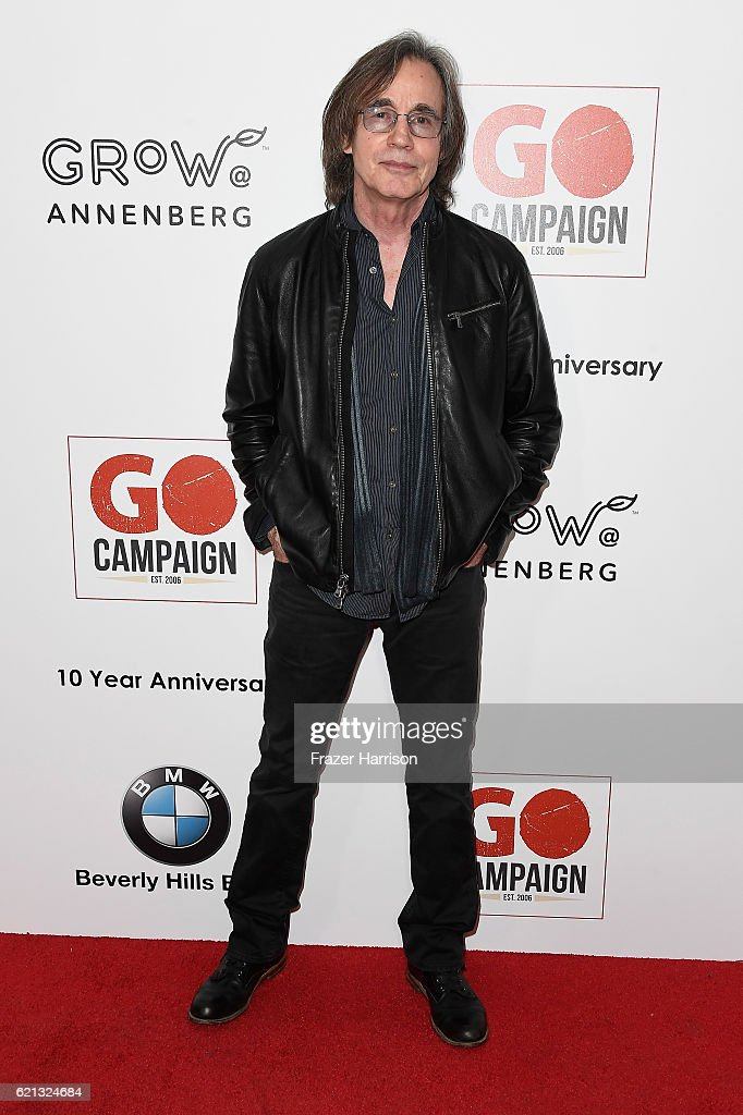 Musician Jackson Brown arrives at the 10th Annual GO Campaign Gala at Manuela on November 5, 2016 in Los Angeles, California.