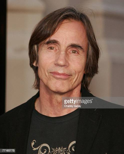 Musician Jackson Browne attends the world premiere of 'Runnin' Down A Dream' at the Steven J Ross Theater at Warner Bros Studios on October 2 2007 in...