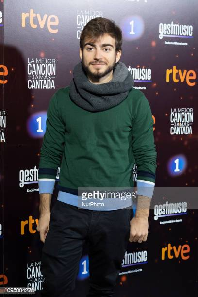 Musician Jaime Altozano attends the 'La mejor cancion jamas contada' photocall at El Sol disco on February 07 2019 in Madrid Spain