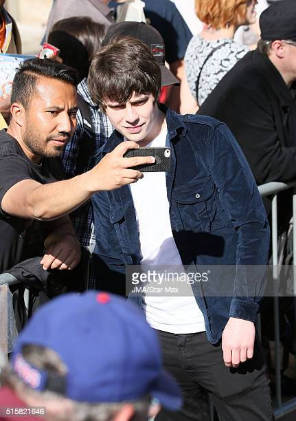 Musician Jake Bugg is seen at 'Jimmy Kimmel Live' on March 15 2016 in Los Angeles California