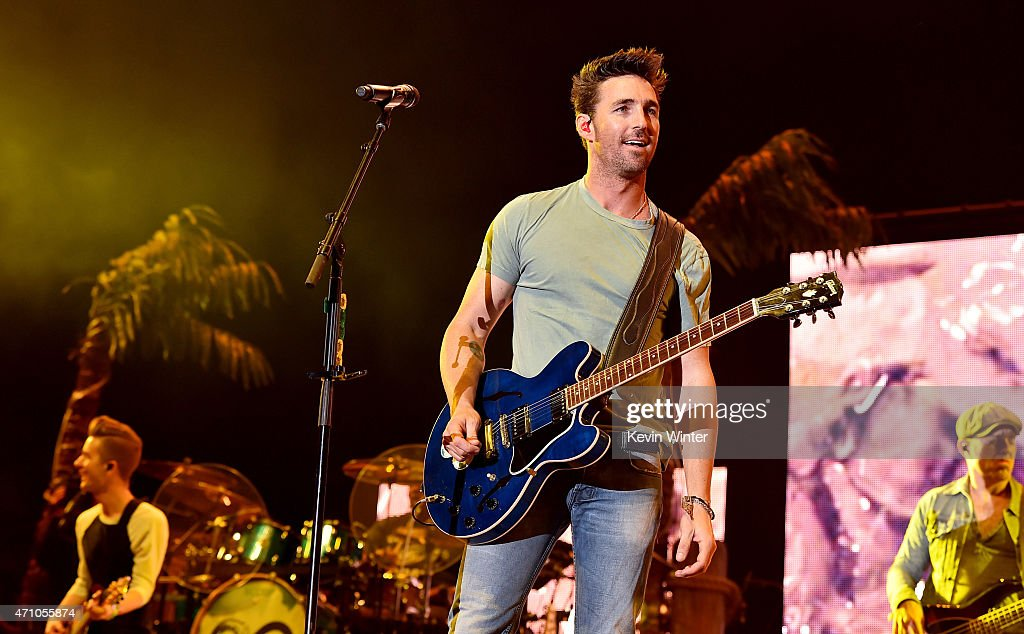 Musician Jake Owen performs onstage during day one of 2015 Stagecoach, California's Country Music Festival, at The Empire Polo Club on April 24, 2015 in Indio, California.