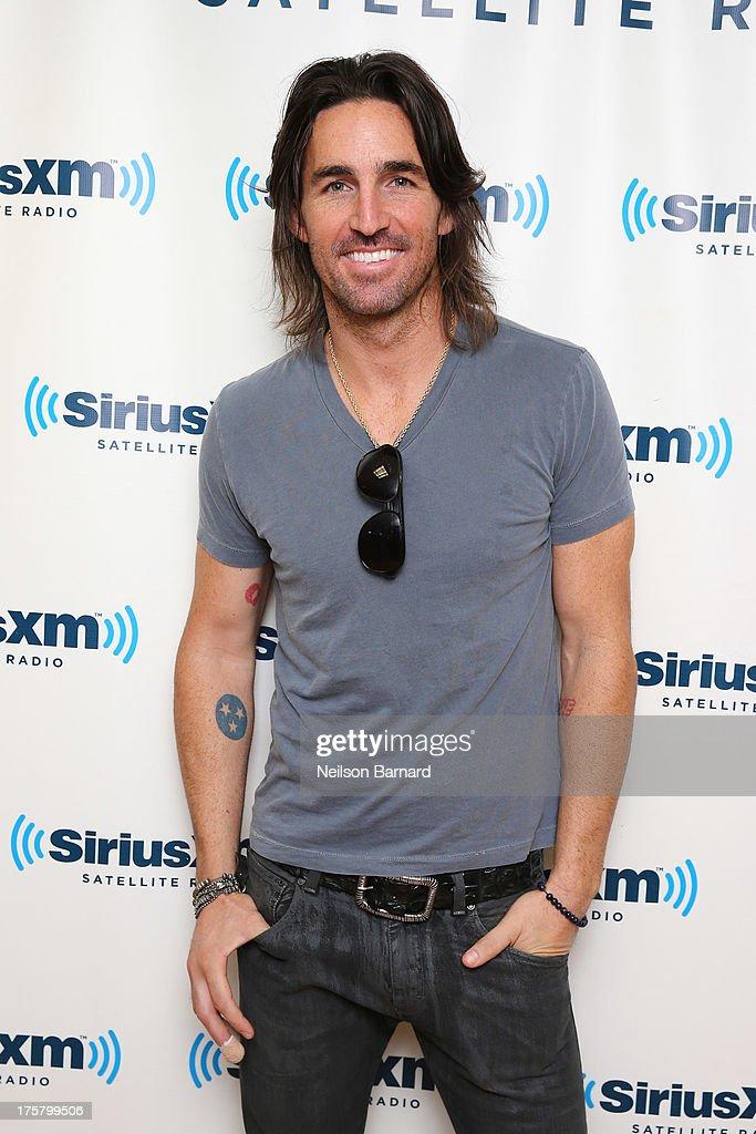 Musician Jake Owen visits SiriusXM Studios on August 8, 2013 in New York City.