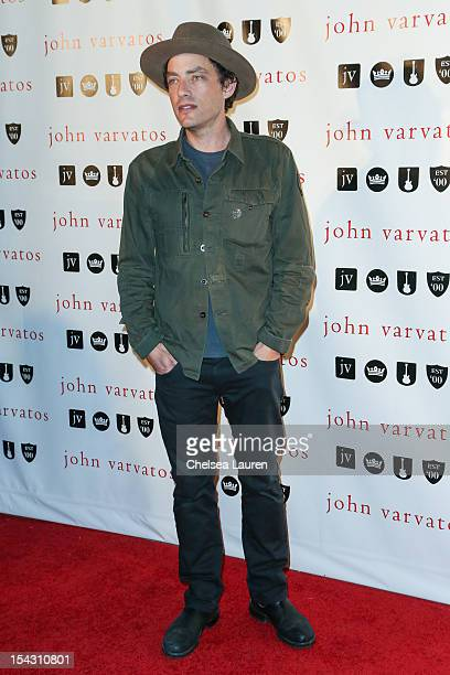 Musician Jakob Dylan attends the John Varvatos West Hollywood 10 year anniversary celebration featuring Paul Weller at John Varvatos Los Angeles on...