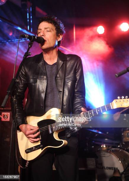Musician Jakob Dylan of The Wallflowers performs onstage at The Wallflowers presented by John Varvatos and SiriusXM at the John Varvatos 315 Bowery...