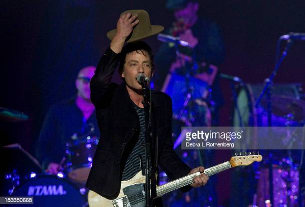 Musician Jakob Dylan performs during the Love For Levon Benefit Concert at the Izod Center on October 3 2012 in East Rutherford New Jersey