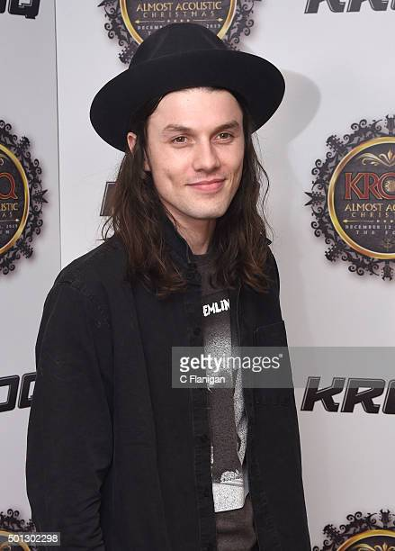Musician James Bay attends 1067 KROQ Almost Acoustic Christmas 2015 at The Forum on December 13 2015 in Los Angeles California