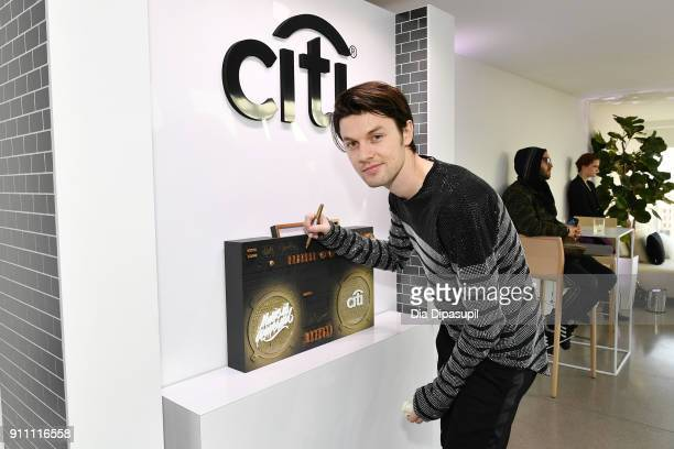 Musician James Bay attends Sir Lucian Grainge's 2018 Artist Showcase presented by Citi with support from Remy Martin on January 27 2018 in New York...