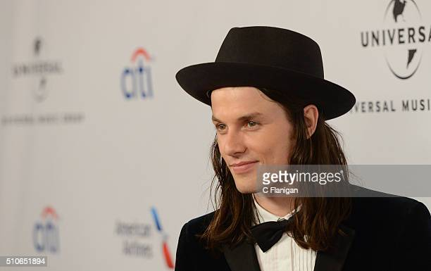 Musician James Bay attends Universal Music Group's 2016 GRAMMY after party at The Theatre At The Ace Hotel on February 15 2016 in Los Angeles...