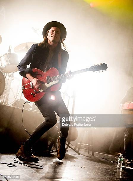 Musician James Bay performs live in concert at Irving Plaza on April 29 2015 in New York City