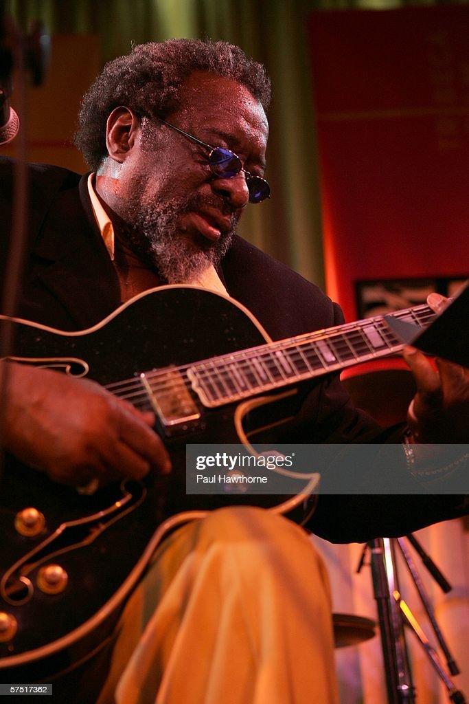Tribeca/ASCAP Music Lounge Presents James Blood Ulmer At Canal Room : Nachrichtenfoto