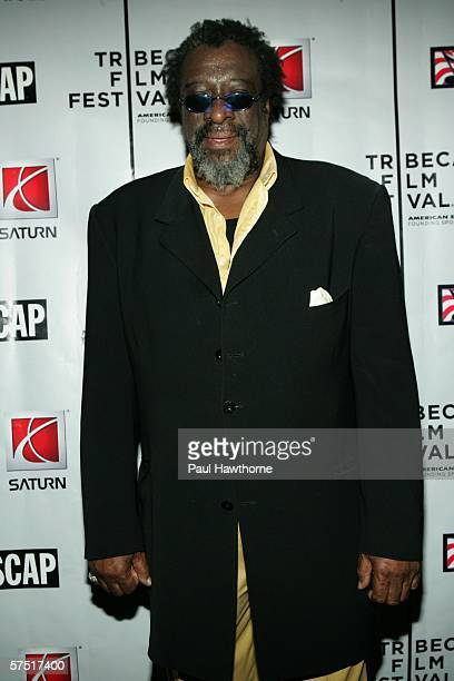 Musician James Blood Ulmer poses at the Tribeca/ASCAP Music Lounge at Canal Room during the 5th Annual Tribeca Film Festival May 2 2006 in New York...